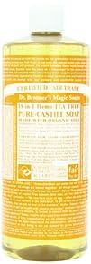 Organic Pure Castile Liquid Soap Tea…