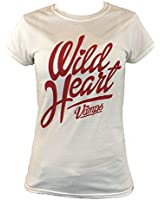 """The Vamps Official """"Wild Heart"""" Logo Ladies Tee Shirt"""