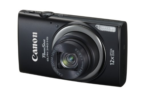 41rd7t%2BkH L Canon PowerShot ELPH 340 HS 16MP Digital Camera (Black) Reviews
