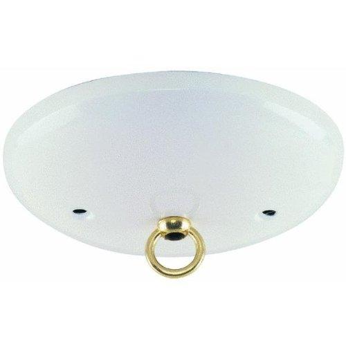 Westinghouse 70037 - White Finish Ceiling Canopy Kit (WHITE FINISH MODERN CANOPY KIT)