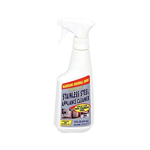 Rangekleen Home Kitchen Gadgets Cooking Utensils Stainless Steel Appliance Cleaner 16 oz. Spray