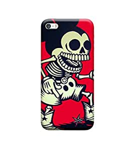 Ebby Premium Printed Back Case Cover With Full protection For Apple iPhone 5 / iPhone 5S (Designer Case)