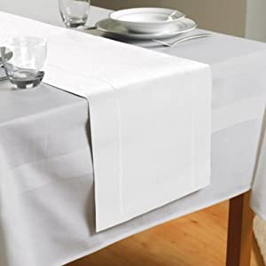DELIVERY Runner,  delivery Hem FREE X  table White, 180 runner 30Cm  Feature Beam Stitch Table