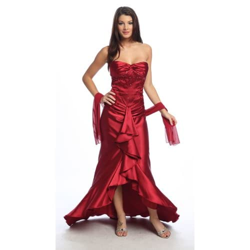 Sexy Red Evening Dress