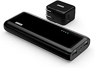 Anker 2nd Gen Astro E4 13000mAh Portable Charger  External Battery Power Bank with PowerIQ Technology for iPhone, iPad, Samsung and More (Black with 2A Adapter)