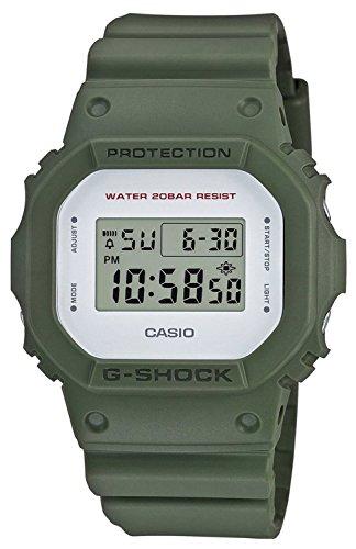 G-SHOCK(ジーショック)ミリタリーカラー スピードモデル 「カーキグリーン」つや消し オリーブ DW-5600M-3 ストリート系 腕時計 同型 DW-5600M-3JF [並行輸入品]