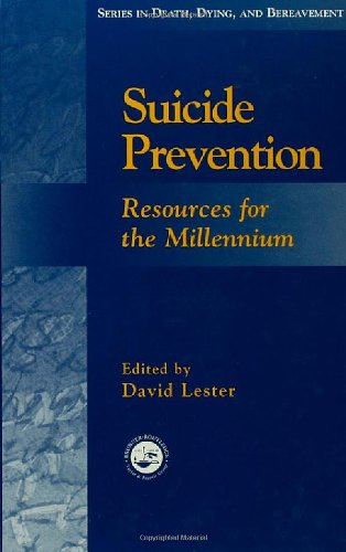 Suicide Prevention: Resources for the Millennium (Series...