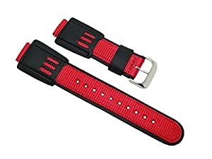 Speidel Express 16mm Watch Band Fits Casio G-Shock DW-003B, DW5600E, DW-003, DW-002, DW-004, DW-9051
