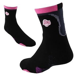 Los Angeles Lakers Team Logo Zag Quarter Socks Mens Size Large 10-13 by NBA Store