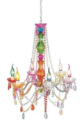 kare design lustre starlight multicolore 6 branches. Black Bedroom Furniture Sets. Home Design Ideas