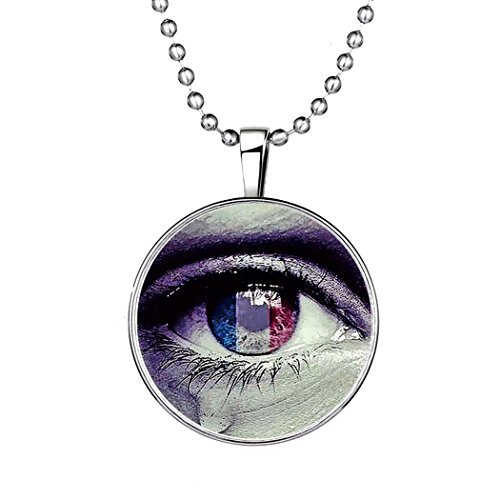 YC Top creativo originale design Evil Eye noctilucous Ciondolo Collana
