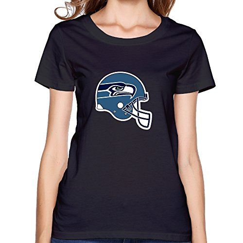 ZOENA Women's T Shirts - Seahawks Black S (S2000 Humidifier compare prices)