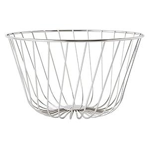 Adi alessi a tempo wire fruit basket apd01 kitchen home - Alessi fruit basket ...