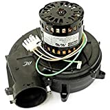Water heater draft inducer blower rheem rudd 115 volts for Ruud blower motor replacement