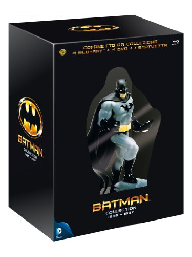 Batman Collection 1989 - 1997(4BRD+4DVD+statuetta - cofanetto da collezione edizione limitata) [Blu-ray] [IT Import]