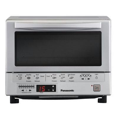 Discover Bargain Panasonic NB-G110P Flash Xpress Toaster Oven, Silver