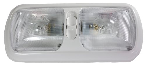 arcon-18124-euro-style-double-light-with-optic-lens-and-white-base