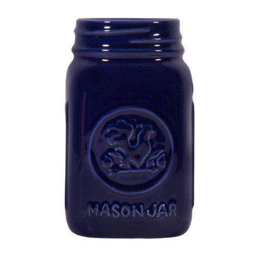 Home Essentials Rooster 14oz Mason Jar Cobalt Blue (Blue Mason Jars For Sale compare prices)