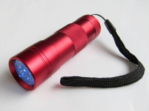 ジェルネイル用UVライト ペン型LEDライト 携帯LED UVランプ