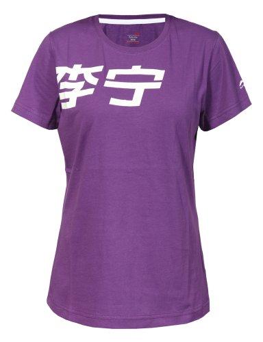 li-ning-camiseta-de-running-para-mujer-tamano-l-color-kraftiges-morado