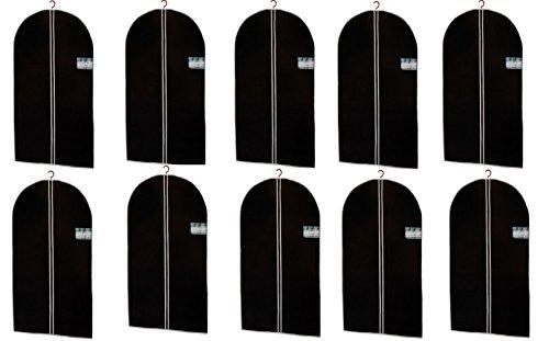 10er-Set-Kleidersack-in-schwarz-150-x-60-cm-hochwertige-Qualitt
