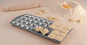 Eppicotispai 36 Holes Aluminum Square Ravioli Maker with Rolling Pin by Eppicotispai