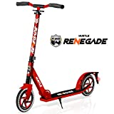 """Scooter – Scooter for Teenager – Kick Scooter – 2 Wheel Scooter with Adjustable T-Bar Handlebar – Folding Adult Kick Scooter with Alloy Anti-Slip Deck – Scooter with 8"""" Smooth Gliding Wheels by Hurtle (Color: Red, Tamaño: Scooter – Scooter for Teenager – Kick Scooter – 2 Wheel Scooter with Adjustable T-Bar Handlebar – F)"""
