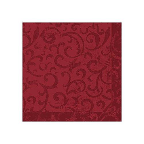 Duni dunilin servietten sarala bordeaux 40 x 40 cm 50er - Servietten dekorativ falten ...