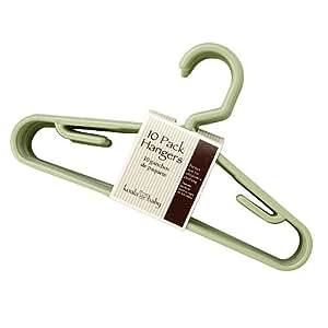 Amazon Com Koala Baby Hangers 10 Pack Sage Baby