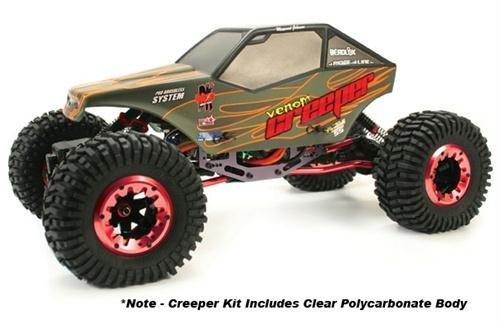 Venom Creeper Competition Rock Crawler Kit - Red