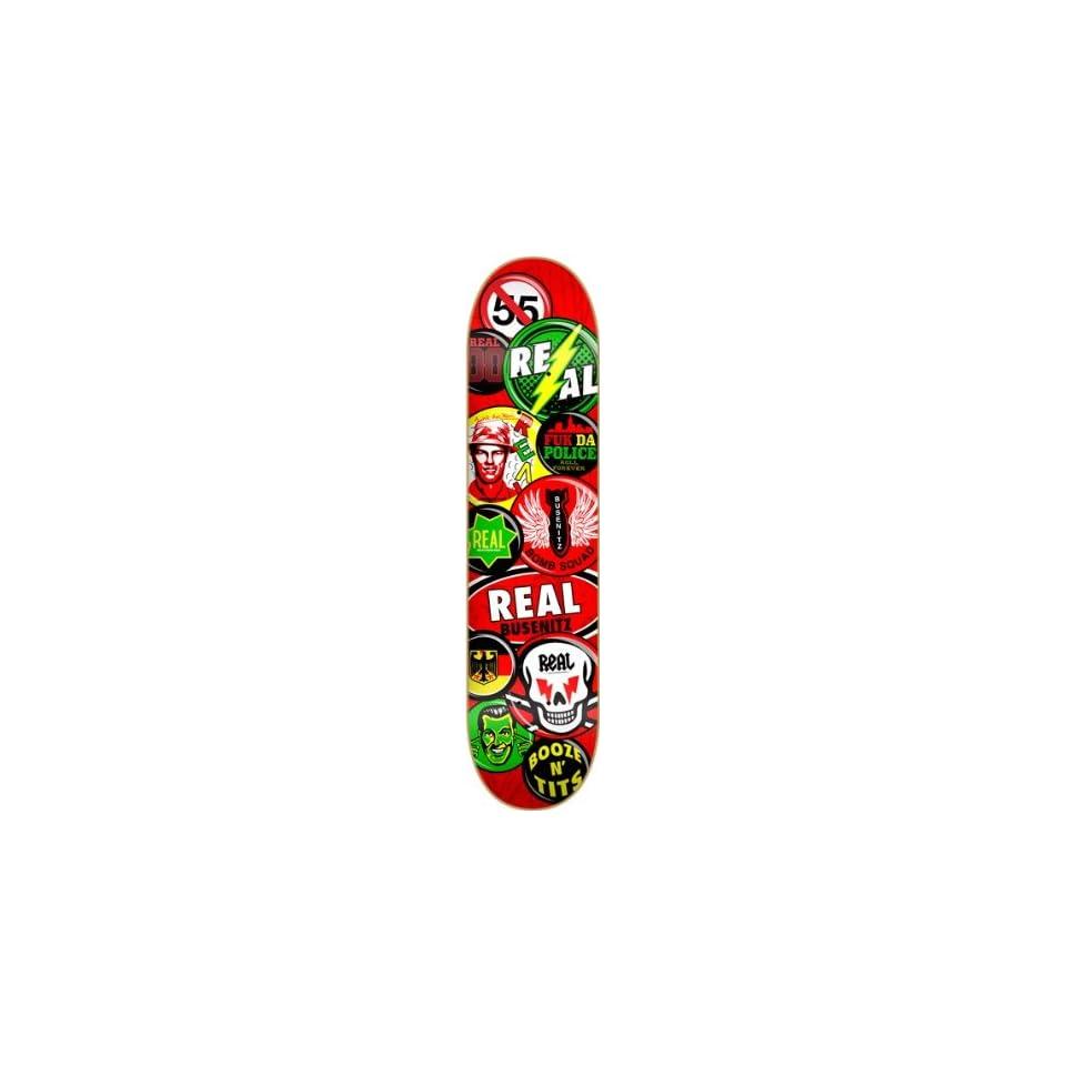 53f5414d3f792 Real Busenitz Friend Club Deck 8.25 Skateboard Decks on PopScreen