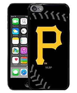 Hot Sale iPod Touch 6 Case ,Unique And Fashion Designed Case With Pittsburgh Pirates black iPod Touch 6 Screen Cover Custom Drsigned Phone Case by Hee Case