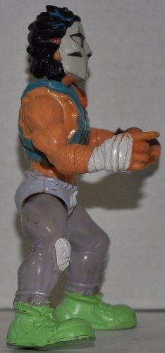 Vintage Casey Jones (1989 Series) Action Figure - Playmates - TMNT - Teenage Mutant Ninja Turtles Collectible Figure - Loose Out of Package & Print (OOP) - 1