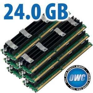 24.0GB Mac Pro Memory Matched Pair (4GB x 6) PC6400 DDR2 ECC 800MHz 240 Pin FB-DIMM Modules,Other World Computing,OWC64FB4MPK24GB