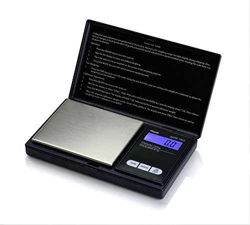 Digital Scale 1000g x 0.1g Balance Electronic Jewelry Gold Silver Coin Gram Pocket Size Herb (Butcher Trays With Lids compare prices)