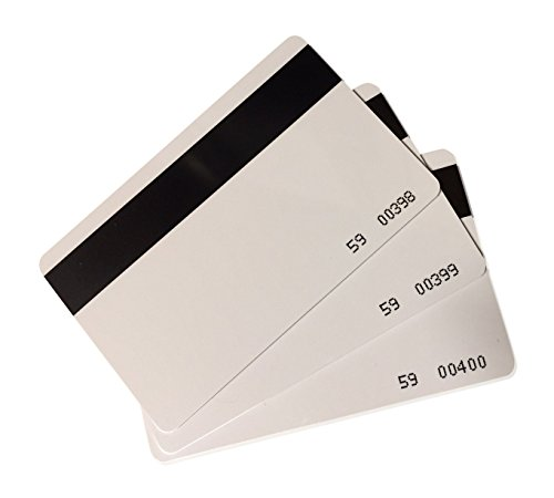 50 pcs CR80 Magstripe 26 Bit Proximity Cards Hi-co Weigand Prox Blank Printable magnetic strip Swipe Cards Compatable with ISOProx 1386 1326 H10301 format readers. Works with most security systems (Hid Proxkey Ii compare prices)