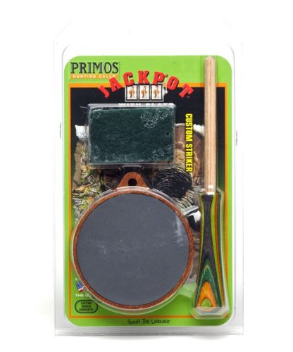 Primos Jackpot Turkey Pot Call with Conditioning Kit