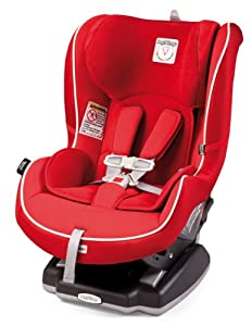 Peg Perego Convertible Premium Infant to Toddler Car Seat, Red