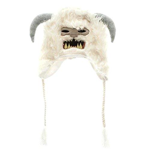 Official White Soft Fluffy Star Wars Wampa Laplander Warm Winter Nepal Hat