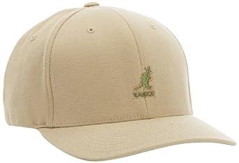 Kangol Wool Flex Fit Baseball Cap (S/M, Beige)