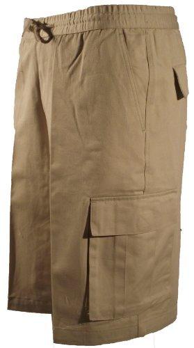 6 Pocket 100% Cotton Drawstring Combat Shorts