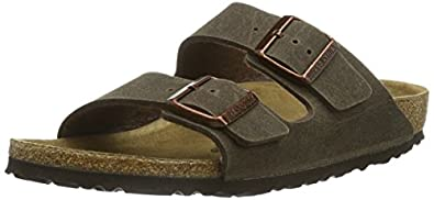 birkenstock classic arizona vegan unisex erwachsene pantoletten schuhe handtaschen. Black Bedroom Furniture Sets. Home Design Ideas