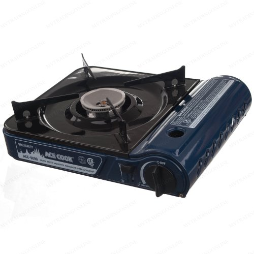 Premium Portable Butane Gas Stove 9,560 BTU with Carrying Case- CSA & CE Listed Approved (Electron Stove compare prices)
