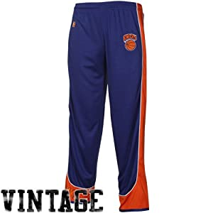 NBA New York Knicks Youth Hardwood Classics Team Pants - Royal Blue by Football Fanatics