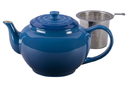 Le Creuset Stoneware Large Teapot With Stainless Steel Infuser, Marseille