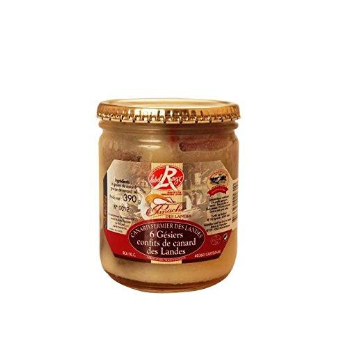 PANACHE DES LANDES Gésiers de Canard Confits Label Rouge 390g