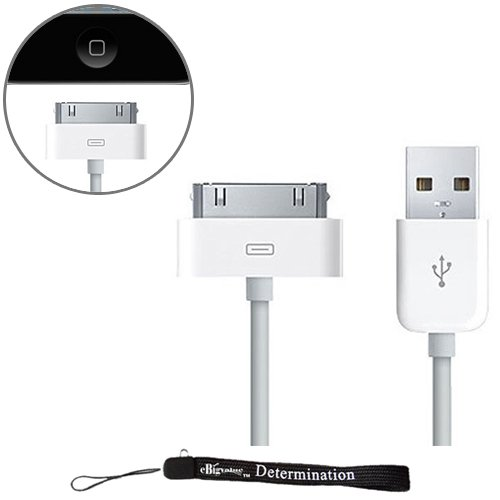 Ebigvalue: White Usb Data Sync And Charge Cable For New Apple Ipod Touch 4 ( 4Th Generation 8Gb, 16Gb, 32Gb )