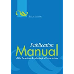 cover of ALA publications manual