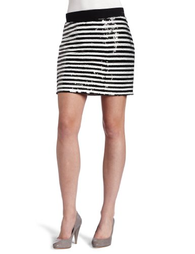 D.E.P.T. Women's Sequins Mini Skirt