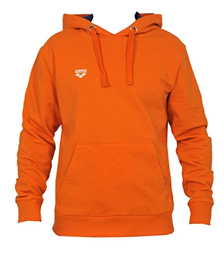 arena nederland hooded sweat orange M